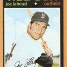 BOSTON RED SOX JOE LAHOUD 1971 TOPPS # 622