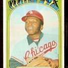 CHICAGO WHITE SOX WALT WILLIAMS 1972 TOPPS # 15 good