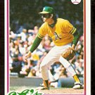 OAKLAND ATHLETICS JOE COLEMAN 1978 TOPPS # 554 EM/NM