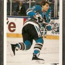 SAN JOSE SHARKS BRIAN LAWTON 1991 UPPER DECK # 572