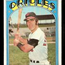 BALTIMORE ORIOLES ANDY ETCHEBARREN 1972 TOPPS # 26 EX