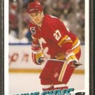 CALGARY FLAMES TOMAS FORSLUND ROOKIE CARD RC 1991 UPPER DECK # 586