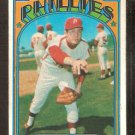 PHILADELPHIA PHILLIES RICK WISE 1972 TOPPS # 43 good