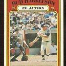 NEW YORK METS BUD HARRELSON IN ACTION 1972 TOPPS # 54 VG+