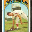 CALIFORNIA ANGELS CLYDE WRIGHT 1972 TOPPS # 55 VG