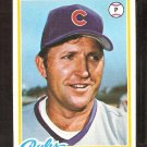 CHICAGO CUBS WOODY FRYMAN 1978 TOPPS # 585 VG+/EX