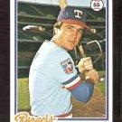 TEXAS RANGERS JIM MASON 1978 TOPPS # 588 NM