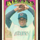 CLEVELAND INDIANS VINCE COLBERT 1972 TOPPS # 84 good