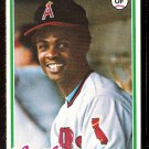 CALIFORNIA ANGELS THAD BOSLEY 1978 TOPPS # 619 EX/NM