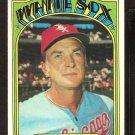 CHICAGO WHITE SOX CHUCK TANNER 1972 TOPPS # 98 EX