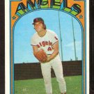 CALIFORNIA ANGELS LLOYD ALLEN 1972 TOPPS # 102 VG/EX