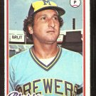 MILWAUKEE BREWERS EDUARDO RODRIGUEZ 1978 TOPPS # 623 EX