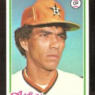 HOUSTON ASTROS JOSE CRUZ 1978 TOPPS # 625 VG