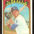 KANSAS CITY ROYALS JERRY MAY 1972 TOPPS # 109 VG