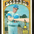 LOS ANGELES DODGERS BILL BUCKNER 1972 TOPPS # 114 fair