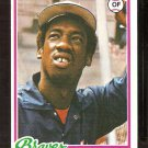 ATLANTA BRAVES ROWLAND OFFICE 1978 TOPPS # 632 NM SOC