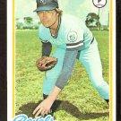 KANSAS CITY ROYALS PAUL SPLITTORFF 1978 TOPPS # 638 EX