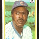 CHICAGO CUBS GENE CLINES 1978 TOPPS # 639 VG