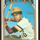 PITTSBURGH PIRATES DAVE CASH 1972 TOPPS # 125 EX