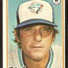 TORONTO BLUE JAYS DOUG RADER 1978 TOPPS # 651 EX