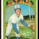 MONTREAL EXPOS CARL MORTON 1972 TOPPS # 134 EX
