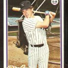 NEW YORK YANKEES FRED STANLEY 1978 TOPPS # 664 VG/EX