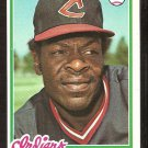 CLEVELAND INDIANS PAUL DADE 1978 TOPPS # 662 NM OC