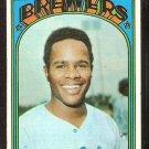MILWAUKEE BREWERS BROCK DAVIS 1972 TOPPS # 161 EX MT