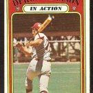 PHILADELPHIA PHILLIES DERON JOHNSON IN ACTION 1972 TOPPS # 168 VG