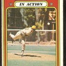 SAN DIEGO PADRES CLAY KIRBY IN ACTION 1972 TOPPS # 174 good