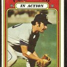 KANSAS CITY ROYALS PAUL SCHALL IN ACTION 1972 TOPPS # 178 good