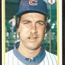 CHICAGO CUBS GEORGE MITTERWALD 1978 TOPPS # 688 VG/EX