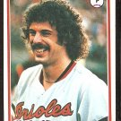 BALTIMORE ORIOLES ROSS GRIMSLEY 1978 TOPPS # 691 VG/EX