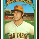 SAN DIEGO PADRES FRED NORMAN 1972 TOPPS # 194 VG+/EX