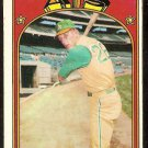 OAKLAND ATHLETICS JOE RUDI 1972 TOPPS # 209 G/VG