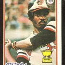 BALTIMORE ORIOLES EDDIE MURRAY ROOKIE CARD RC 1978 TOPPS # 36 VG/EX OC