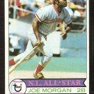 CINCINNATI REDS JOE MORGAN 1979 TOPPS # 20 good
