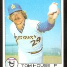 SEATTLE MARINERS TOM HOUSE 1979 TOPPS # 31 NM