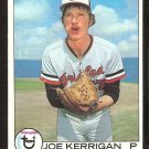 BALTIMORE ORIOLES JOE KERRIGAN 1979 TOPPS # 37 EX
