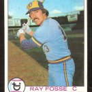 MILWAUKEE BREWERS RAY FOSSE 1979 TOPPS # 51 EX/EM