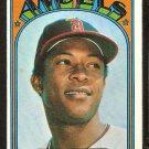 CALIFORNIA ANGELS SANDY ALOMAR 1972 TOPPS # 253 EX/EM