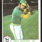 OAKLAND ATHLETICS DELL ALSTON 1979 TOPPS # 54 EX/NM