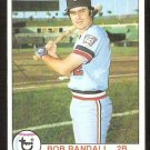 MINNESOTA TWINS BOB RANDALL 1979 TOPPS # 58 EM/NM