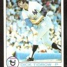 NEW YORK YANKEES DICK TIDROW 1979 TOPPS # 89 EX
