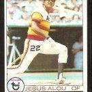 HOUSTON ASTROS JESUS ALOU 1979 TOPPS # 107