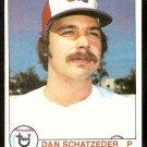 MONTREAL EXPOS DAN SCHATZEDER 1979 TOPPS # 124 NM