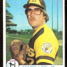 SAN DIEGO PADRES MARK LEE ROOKIE CARD RC 1979 TOPPS # 138 EX