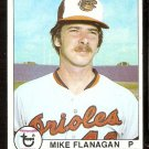 BALTIMORE ORIOLES MIKE FLANAGAN 1979 TOPPS # 160 EX