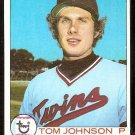 MINNESOTA TWINS TOM JOHNSON 1979 TOPPS # 162 NM