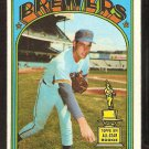 MILWAUKEE BREWERS BILL PARSONS 1972 TOPPS # 281 EX/NM